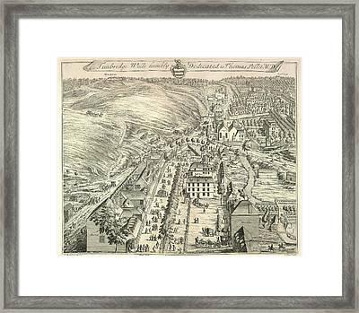 View Of Tunbridge Wells Framed Print