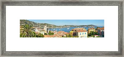 View Of Villefranche Sur Mer, French Framed Print