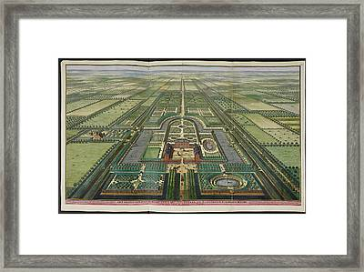 View Of Zeist House Framed Print by British Library