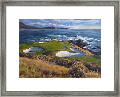 View On The Seventh Framed Print by Shelley Cost