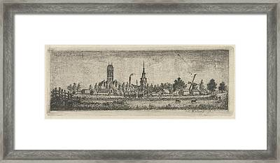 View Oudewater, The Netherlands, Eberhard Cornelis Rahms Framed Print by Eberhard Cornelis Rahms