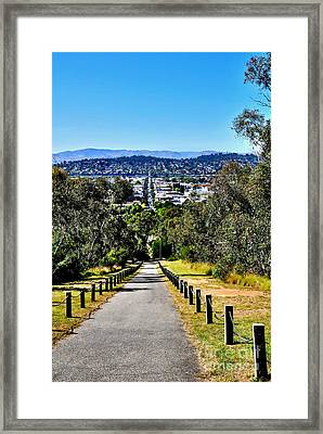 View Over Albury - Nsw Framed Print