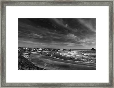 View Over Bandon Framed Print by Andrew Soundarajan