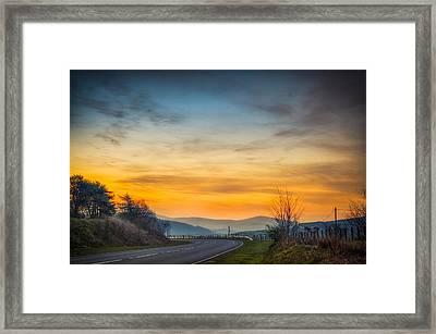 View Over Llyn Celyn Towards Bala Framed Print