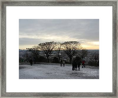 View Over Paris Framed Print