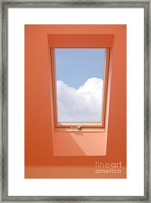 View Through The Window. Framed Print by Michal Bednarek