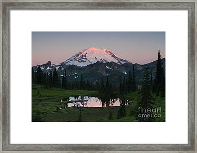 View To Be Shared Framed Print by Mike Dawson