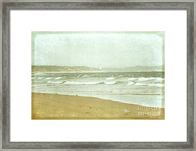 View To Point Lonsdale Framed Print