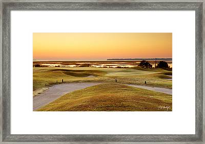 View To Spain Framed Print by Phill Doherty