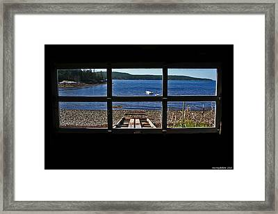 View To Wake Up To Framed Print