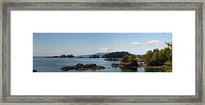 View Toward Mount Edgecumbe, Sitka Bay Framed Print