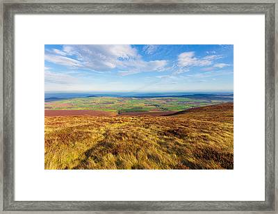 View Towards Greystones From The Wicklow Way Framed Print by Semmick Photo