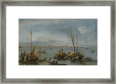 View Towards Murano From The Fondamente Framed Print