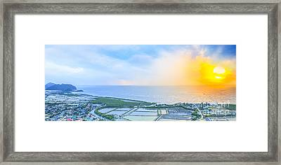 Viewpoint Of Kaw Dang Framed Print