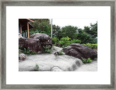 Viewpoint - Phi Phi Island - 01134 Framed Print by DC Photographer