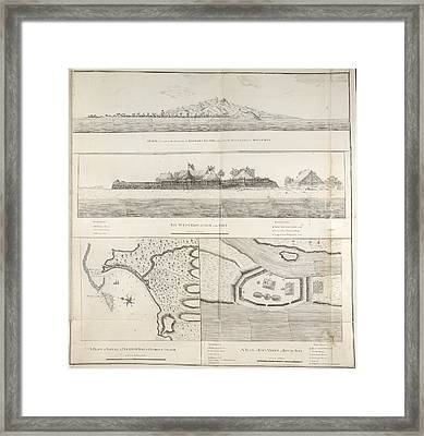 Views And Plans Of Royal Bay Framed Print by British Library