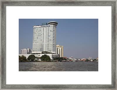 Views From A River Boat Taxi In Bangkok Thailand - 011311 Framed Print