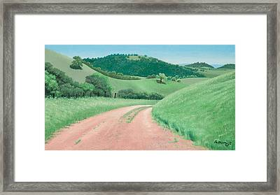 Views From Canada De Los Osos #2 Framed Print