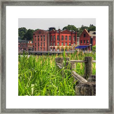 Views From Gorham Island Framed Print