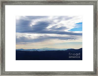 Views From Mt. Elbert Framed Print