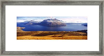 Views Of Cecil And Walter Peaks Framed Print by Panoramic Images