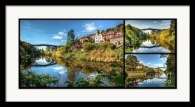 Coalbrookdale Framed Prints