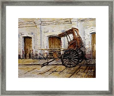 Vigan Carriage 1 Framed Print