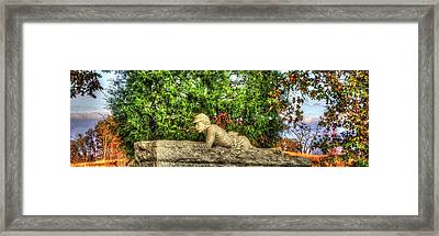 Vigilance - Gettysburg National Military Park - Late Afternoon Autumn Framed Print by Michael Mazaika