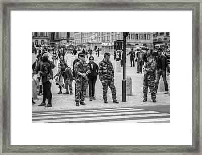 Vigilance Framed Print by Ross Henton