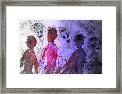 Been To The Ball And Going To The Nachspiel  Framed Print
