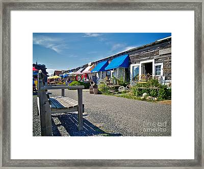 Viking Village Framed Print