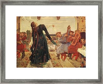 Viktor M Vasnetsov  Frog Princess Framed Print