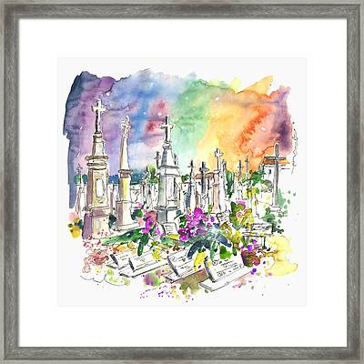 Vila Do Conde Cemetery Framed Print