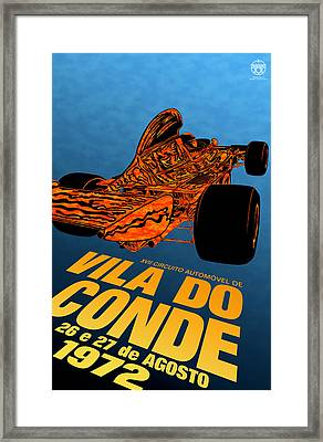 Vila Do Conde Portugal 1972 Grand Prix Framed Print