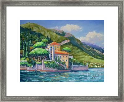 Villa Balbianello Lake Como Framed Print