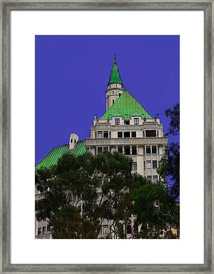 Framed Print featuring the photograph Villa Building by Joseph Hollingsworth