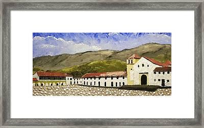 Villa De Leyva Colombia Framed Print