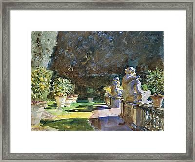 Villa Di Marlia - Lucca Framed Print