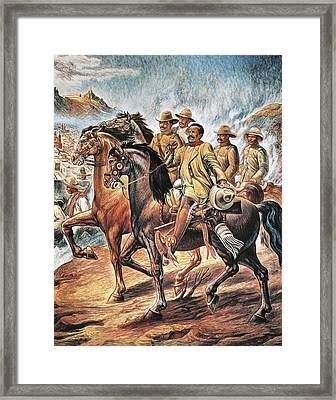 Villa, Pancho 1878-1923. Painting Framed Print