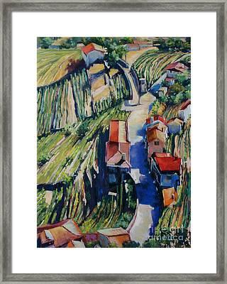 Villa Real Framed Print by Virginia Dauth