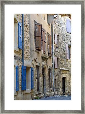 Village Apartments Framed Print by Bob Phillips