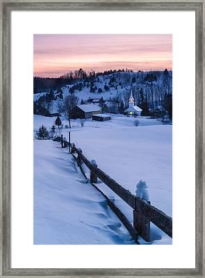 Village Beacon Framed Print