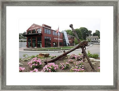 Village Center Port Jefferson New York Framed Print by Bob Savage
