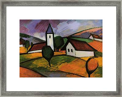 Village  Framed Print by Emil Parrag