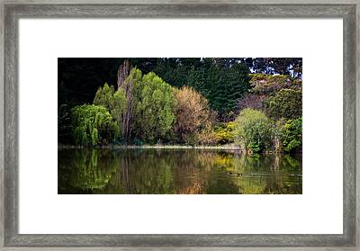 Village Green Framed Print