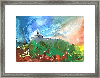 Village In Cathar Country Framed Print