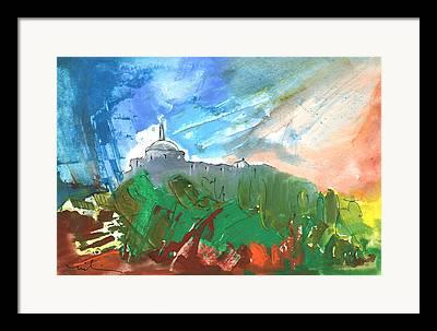 Cathar Country Framed Prints