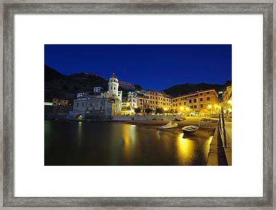 village in Italy Framed Print by Ioan Panaite