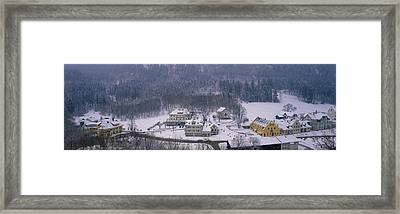 Village Of Hohen-schwangau, Bavaria Framed Print by Panoramic Images