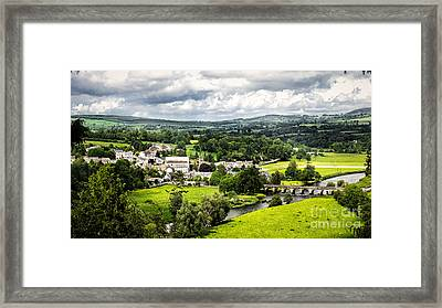Village Of Inistioge Framed Print